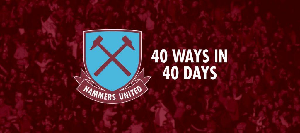 40 Ways in 40 Days