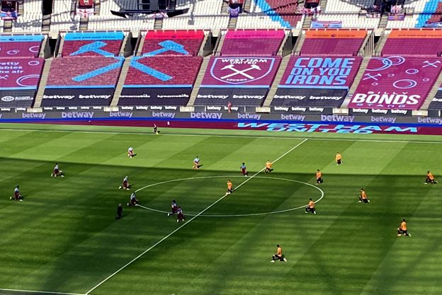 Empty London Stadium Covid-19