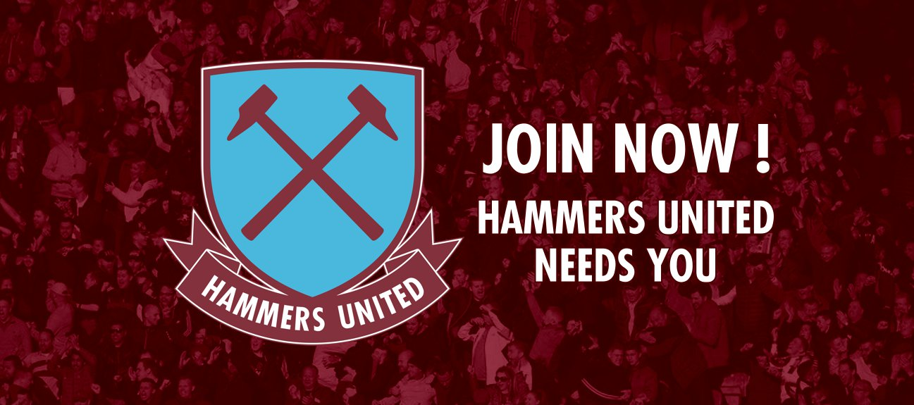 Join Hammers United Now !