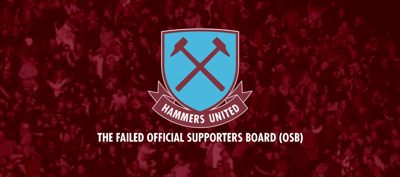 The Failed Official Supporters Board