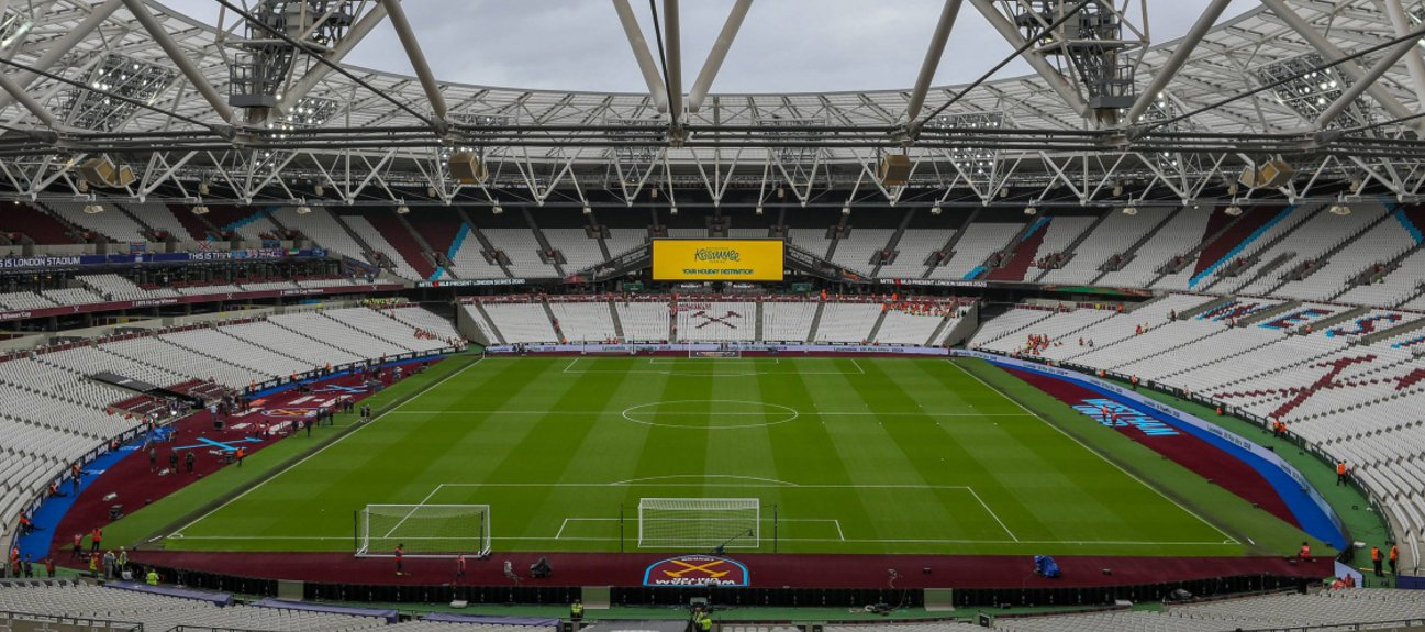 Empty London Stadium